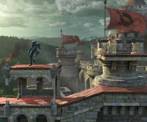 Castle Siege Stage super Smash Bros ultimate Nintendo Switch fire Emblem