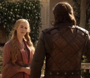 Cersei vs ned Stark Game of Thrones HBO