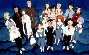 Major characters Neon Genesis Evangelion