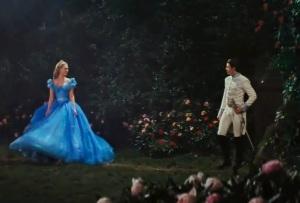Cinderella and kit blue dress Cinderella 2015 movie