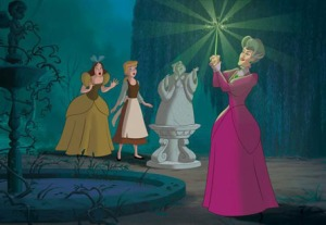 Lady Tremaine magic wand Cinderella III: A Twist in Time movie