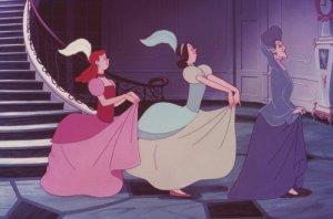 Evil step family Cinderella disney movie