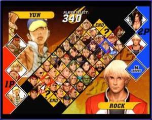 Yun vs rock Capcom vs. SNK 2 EO