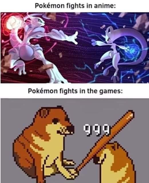 Memes pokemon fights