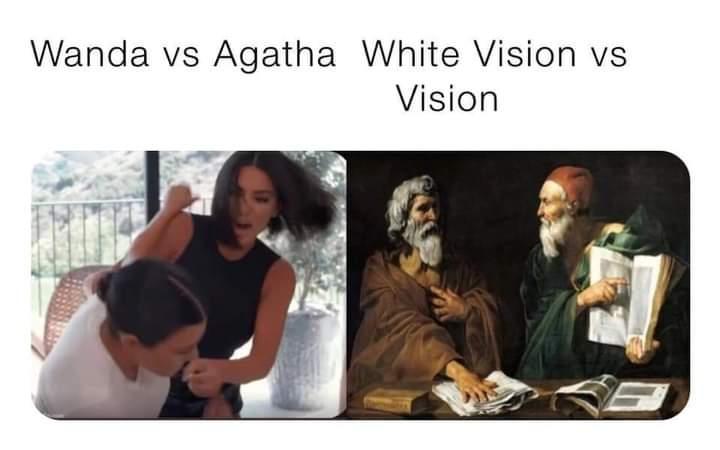 Memes wandavision final battle