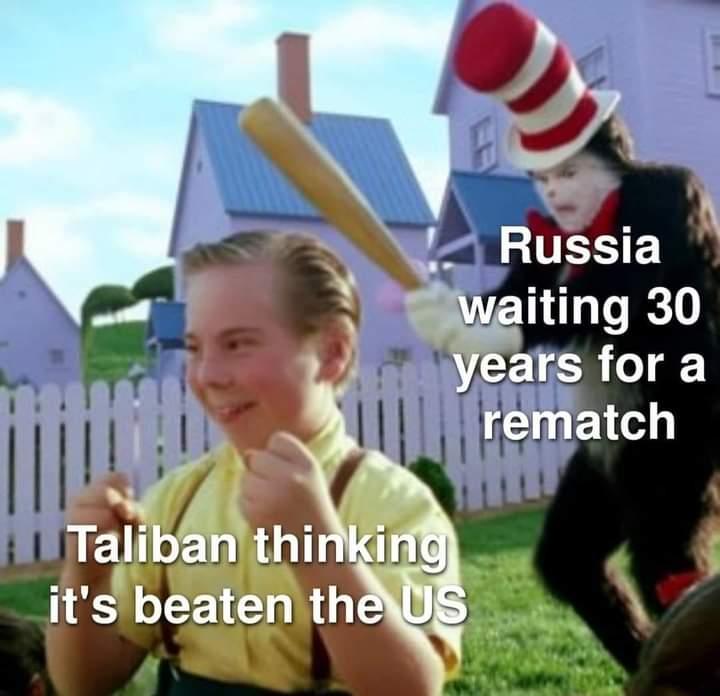 Memes Russia vs taliban