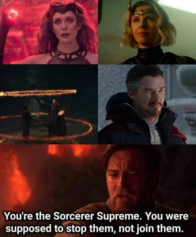 Memes dr strange Wrecking multiverse