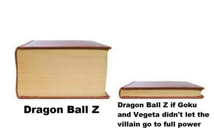 Memes Dragon Ball Z goku and Vegeta arrogance