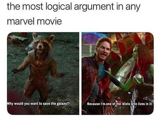Memes Peter quill star lord