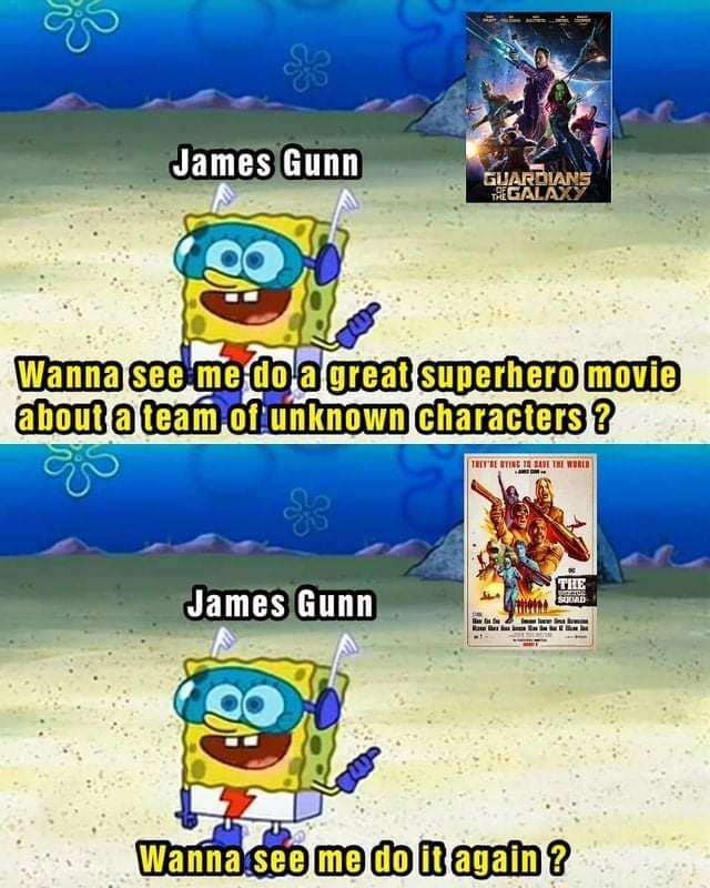 Memes James Gunn Suicide Squad guardians of the Galaxy