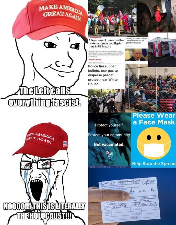 Memes Maga hypocrisy