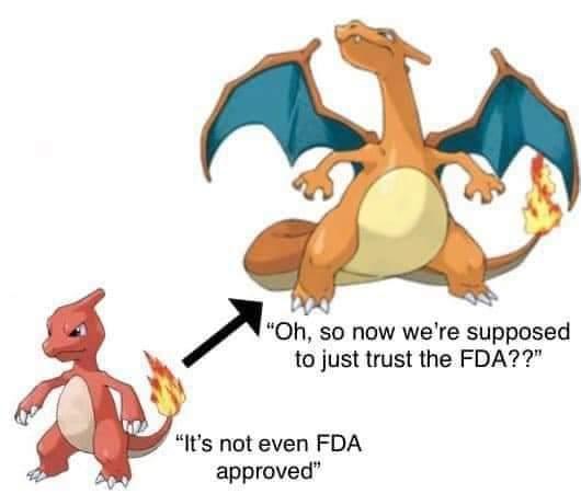 Memes antivaxxers Covid-19 fda approval