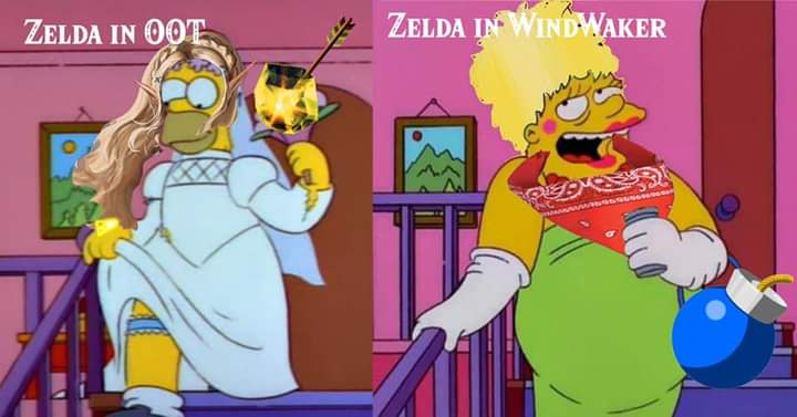 Memes princess Zelda vs tetra