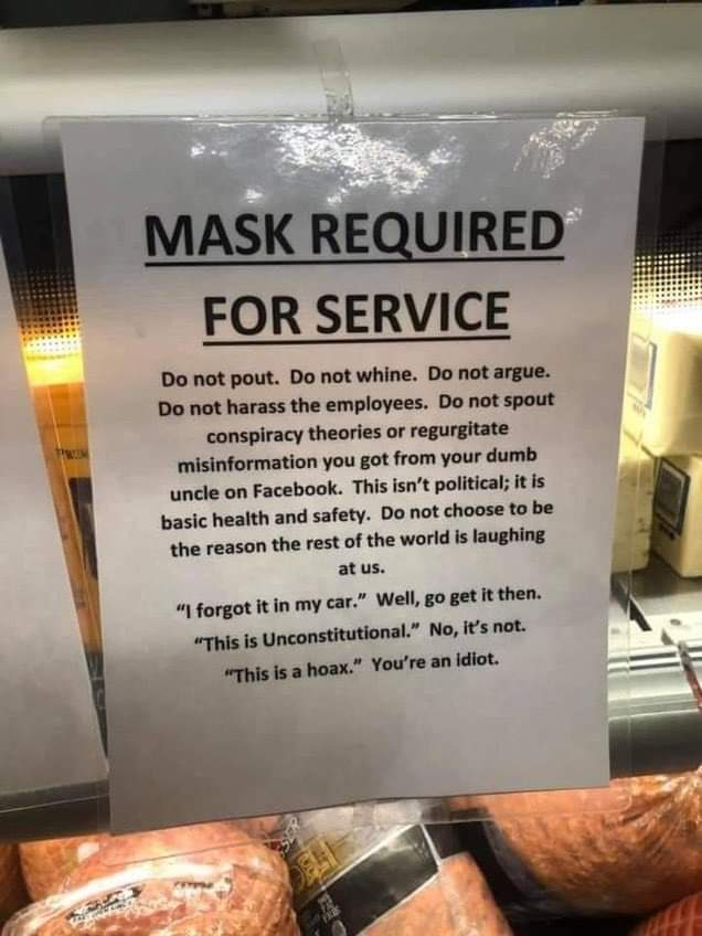 Memes why you should wear a mask