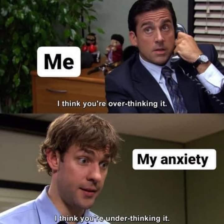 Memes bad anxiety