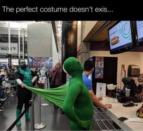 Memes green lantern cosplay