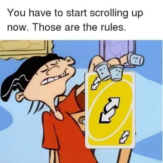 Memes uno reverse card