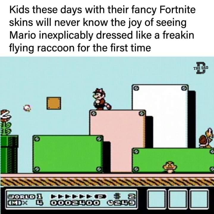 Memes Super Mario Bros 3 NES