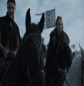 Sansa Stark battle of the bastards game of Thrones HBO
