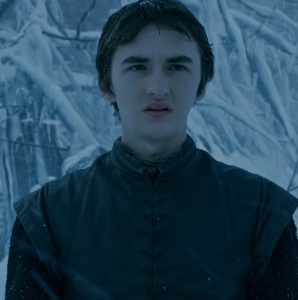 Bran stark cursed by night king game of Thrones HBO
