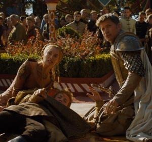 Cersei Lannister purple wedding Game of Thrones HBO