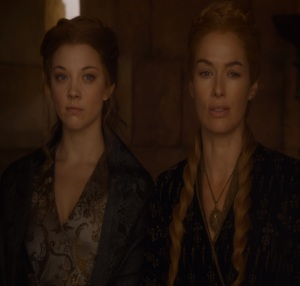 Cersei Lannister and Margaery Tyrrell Game of Thrones HBO