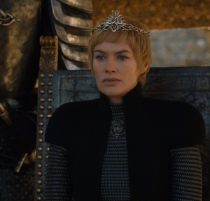 Queen Cersei Lannister sees wight Game of Thrones HBO