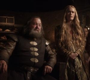 Queen Cersei demands king Robert kill lady direwolf Game of Thrones HBO