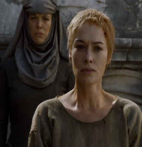 Cersei Lannister walk of shame Game of Thrones HBO