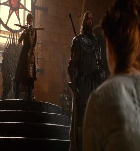 Sansa Stark prisoner of house Lannister game of Thrones HBO