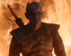 Night King immune to fire game of Thrones HBO