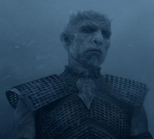 Night King sees Jon Snow game of Thrones HBO