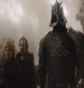 Qyburn killed by the Mountain Game of Thrones HBO