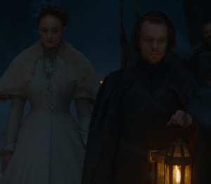 Sansa Stark wedding to ramsay Bolton game of Thrones HBO
