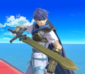 Ike super Smash Bros ultimate Nintendo Switch fire Emblem