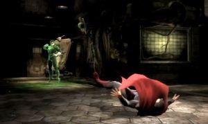 Hal Jordan vs Superman Injustice: Gods Among Us