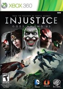 Injustice: Gods Among Us Xbox 360 boxart