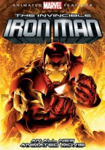 The Invincible Iron Man 2007 poster