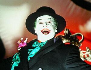 Jack Nicholson Joker Batman 1989 movie