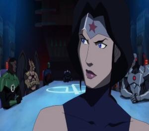 Wonder woman Justice League Dark movie