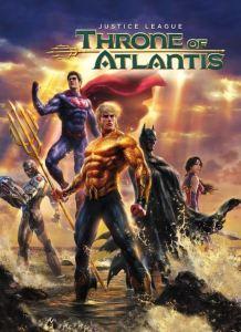 Justice League throne of Atlantis movie poster