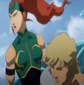 Princess Meera Justice League: Throne of Atlantis
