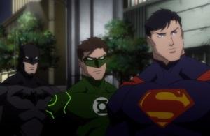 Batman green lantern superman Justice League: War