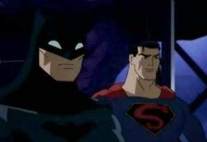 Batman and Superman Justice League: The New Frontier