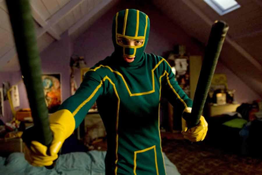 Dave becomes super hero Kick-ass 2010 movie