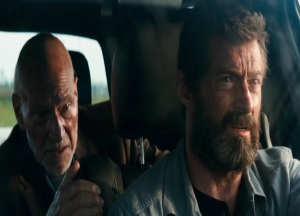 Hugh Jackman Patrick Stewart Logan 2017 movie