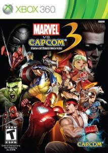 Marvel Vs. Capcom 3: Fate of the Two Worlds Xbox 360 boxart