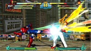 Iron man kicking ryu Marvel Vs. Capcom 3: Fate of the Two Worlds Xbox 360 ps3