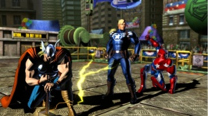 Thor captain America Iron man Marvel Vs. Capcom 3: Fate of the Two Worlds Xbox 360 ps3