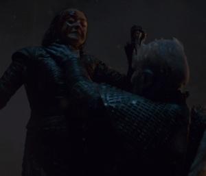Arya Stark kills the Night King game of Thrones HBO